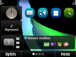 Nokia E6-00 - MMS - automatisch instellen - Stap 3