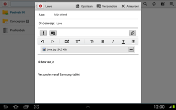 Samsung P5100 Galaxy Tab 2 10-1 - E-mail - e-mail versturen - Stap 14