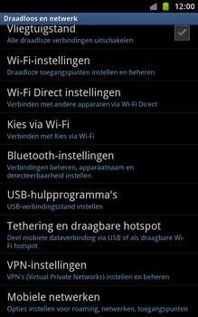 Samsung N7000 Galaxy Note - Bellen - in het buitenland - Stap 5
