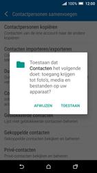 HTC One A9 - Contacten en data - Contacten kopiëren van toestel naar SIM - Stap 7