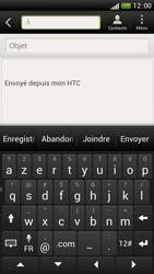 HTC One S - E-mails - Envoyer un e-mail - Étape 5
