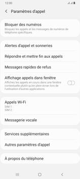 Samsung Galaxy A70 - Messagerie vocale - configuration manuelle - Étape 7