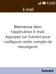 Nokia 8110 Banana - E-mail - 032c. Email wizard - Outlook - Étape 4
