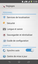 Sony Xpéria E1 Dual - Sécuriser votre mobile - Activer le code de verrouillage - Étape 4