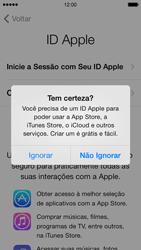 Apple iPhone iOS 7 - Primeiros passos - Como ativar seu aparelho - Etapa 16