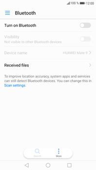 Huawei Mate 9 - WiFi and Bluetooth - Setup Bluetooth Pairing - Step 4