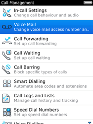 BlackBerry 9800 Torch - Voicemail - Manual configuration - Step 5