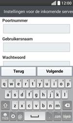 LG D320 L70 - E-mail - Account instellen (IMAP zonder SMTP-verificatie) - Stap 10