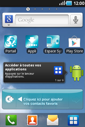 Samsung Galaxy Ace - Applications - Supprimer une application - Étape 1