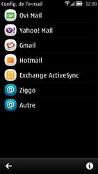 Nokia 700 - E-mail - Configuration manuelle - Étape 5
