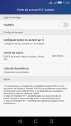 Huawei Y6 - Wi-Fi - Como usar seu aparelho como um roteador de rede wi-fi - Etapa 6