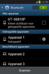 Samsung S6810P Galaxy Fame - Bluetooth - Headset, carkit verbinding - Stap 8