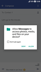 HTC 10 - Android Nougat - MMS - Sending a picture message - Step 13