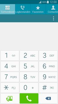 Samsung Galaxy Note 4 4G (SM-N910F) - Voicemail - Handmatig instellen - Stap 4