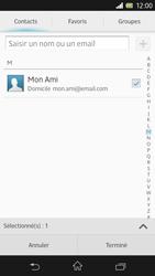 Sony C6603 Xperia Z - E-mail - envoyer un e-mail - Étape 6