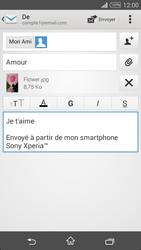 Sony Xpéria T3 - E-mails - Envoyer un e-mail - Étape 13