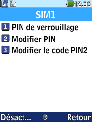 LG G359 - Sécuriser votre mobile - Personnaliser le code PIN de votre carte SIM - Étape 7