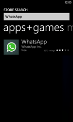 HTC Windows Phone 8S - Applications - Downloading applications - Step 6
