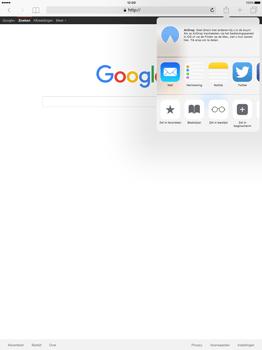 Apple iPad Pro - Internet - Internet gebruiken - Stap 6