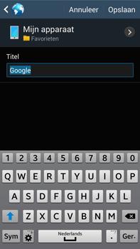 Samsung N9005 Galaxy Note III LTE - Internet - Internet gebruiken - Stap 9