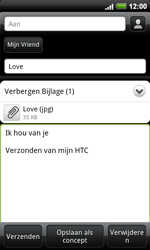 HTC A9191 Desire HD - E-mail - Hoe te versturen - Stap 11