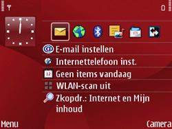 Nokia E63 - Internet - Internetten - Stap 1