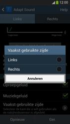 Samsung I9505 Galaxy S IV LTE - Adapt Sound - Adapt Sound instellen - Stap 12