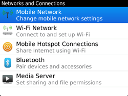 BlackBerry 9720 Bold - Network - Usage across the border - Step 5