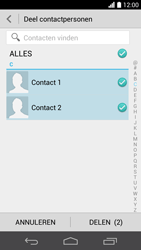 Huawei Ascend P6 (Model P6-U06) - Contacten en data - Contacten overzetten via Bluetooth - Stap 6