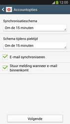 Samsung I9505 Galaxy S IV LTE - E-mail - e-mail instellen: IMAP (aanbevolen) - Stap 16