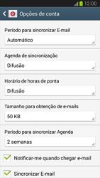 Samsung Galaxy S3 - Email - Adicionar conta de email -  8