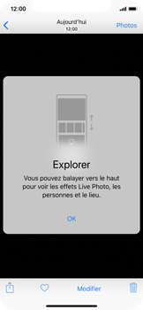 Apple iPhone XS - iOS 12 - Photos, vidéos, musique - Créer une vidéo - Étape 11