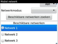 BlackBerry 9720 Bold - Netwerk - Gebruik in het buitenland - Stap 9