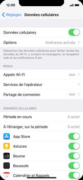 Apple iPhone X - Aller plus loin - Désactiver les données à l'étranger - Étape 4