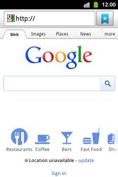 Samsung S5830i Galaxy Ace i - Internet - Internet browsing - Step 4