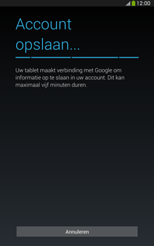 Samsung T315 Galaxy Tab 3 8-0 LTE - Applicaties - Account aanmaken - Stap 20