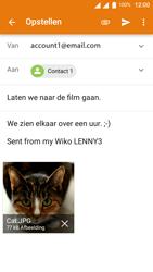 Wiko Lenny 3 - E-mail - E-mails verzenden - Stap 15