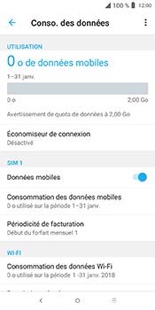 Alcatel 3L - Internet et connexion - Désactiver la connexion Internet - Étape 6