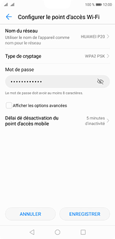 Huawei P20 - Internet et connexion - Partager votre connexion en Wi-Fi - Étape 7