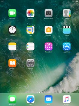 Apple iPad Pro 9.7 - iOS 10 - iOS features - Supprimer et restaurer les applications iOS par défaut - Étape 6