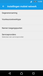 Sony Xperia M5 - Internet - Handmatig instellen - Stap 9