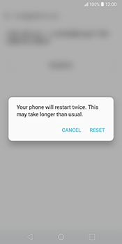 LG V30 - Device - Factory reset - Step 11
