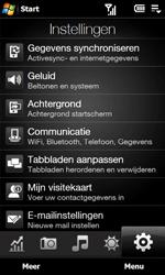 HTC T5353 Touch Diamond II - Instellingen - Instellingen wizard - Stap 4