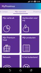 HTC Desire 530 - Applicaties - MyProximus - Stap 12