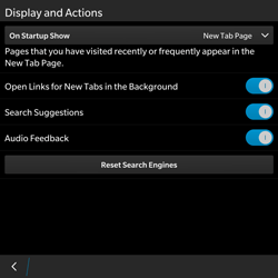 BlackBerry Passport - Internet - Manual configuration - Step 16