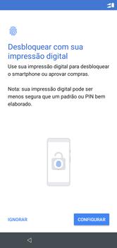 Motorola One - Primeiros passos - Como ativar seu aparelho - Etapa 14