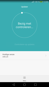 Huawei Mate S - Netwerk - Software updates installeren - Stap 7