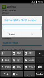 Huawei Y625 - SMS - Manual configuration - Step 6