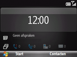 HTC S521 Snap - Internet - hoe te internetten - Stap 1