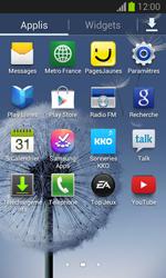 Samsung Galaxy Trend - Internet et connexion - Partager votre connexion en Wi-Fi - Étape 3